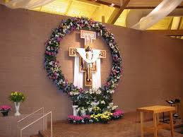 religious easter decorations easter decorating ideas for church sougi me