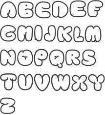 bubble letters font 0b43e59c5049efac2f09fb2e0834e63e jpg