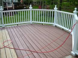 outdoor lowes deck stain for covering up unsightly concrete patio