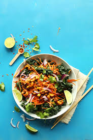 thai carrot salad with curried cashews recipe