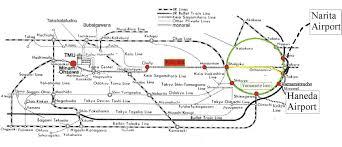Narita Airport Map Tmu Physics Access