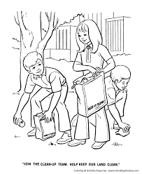 earth day coloring pages earth day clean up team coloring pages