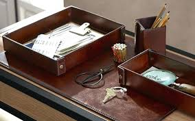 Desk Accessories Uk Leather Desk Accessories Leather Desk Accessories For Home Office