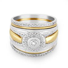 wedding ring sets diamond gold silver galaxy co galaxy co