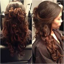 prom hairstyles for long hair half up half down hairstyle