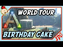 ark world tour birthday cake ark survival evolved xbox youtube
