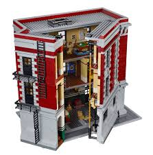 Lego Headquarters Lego Ghostbusters Firehouse Revealed In New Photos