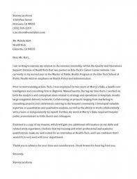 film internship cover letter