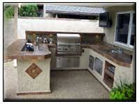 Small Kitchens Bbq Islands Fireside Outdoor Kitchens barbecue islands by surrounding elements located in orange county