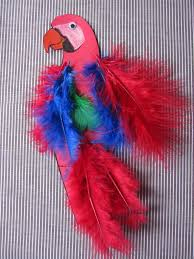 a parrot fit for a pirate easy parrot craft for talk like a