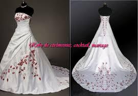 robes de mari e bordeaux de mariee blanche et bordeaux