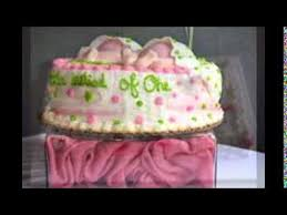 baby shower cakes for twin girls youtube