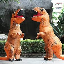 Inflatable Costume Halloween Rex Suit Dinosaur Inflatable Costume Halloween Fancy Dress