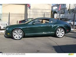 bentley green 2005 bentley continental gt in barnato green photo 3 027313