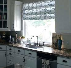 kitchen window coverings ideas large kitchen window lovable window treatments for large kitchen