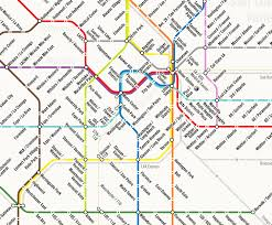 Los Angeles Subway Map by 13 Fake Public Transit Systems We Wish Existed Wired