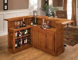Kitchen Bar Table With Storage Bar Table Storage Small Home Bar Ideas L Shape Brown Wood Bar
