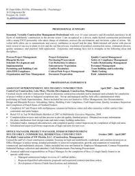 Sample Dental Office Manager Resume Construction Manager Resume Example Sample