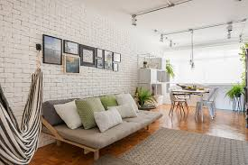 cozy home decor a cozy home that embraces brick walls and gives us hygge goals