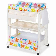Change Table With Bath Wholesale Baby Change Table With Bath And Storage Two Shelves And