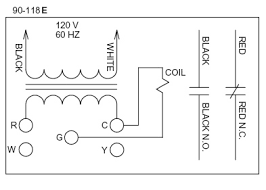 old honeywell thermostat wiring diagram old round thermostat