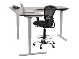 Sit Stand Adjustable Desk by Images Of Sit Stand L Shaped Adjustable Height Desk