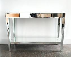 glass table ls amazon mirrored console table popular amazon omiio org