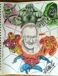 meeting the amazing stan lee was faster than spider man terror