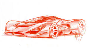 ferrari enzo sketch in memoriam sergio pininfarina 23 september 2005 u2013 3 july 2012