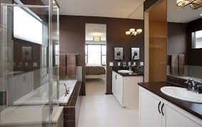 bathroom fascinating master bathroom decor with brown and white