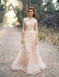 vintage 2014 lace wedding dresses champagne sweetheart ruffles