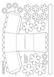 easter basket net templates u2013 happy easter 2017