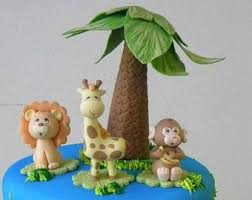 safari cake toppers safari cake toppers fondant safari animal cake giraffe
