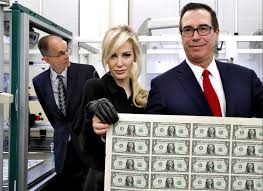 Even Bill Would Check Out - steven mnuchin had no idea money sheet photo would go viral time