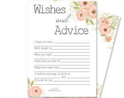 Advice Cards For The Bride Advice For The Bride Wedding Advice Cards Newlywed Advice