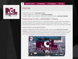 ncl university training ncl