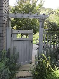 Gate For Backyard Fence Garden Secrets What A Landscape Architect Plants At Home Yard