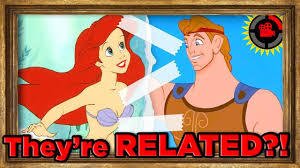 theory ariel is related to hercules disney s connected