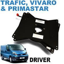 siege rib vivaro trafic drivers seat swivel rib 2001 2014 ebay