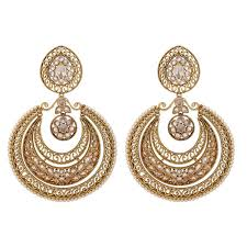 golden earrings ijewel