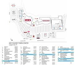 retail space for lease bay colony town center league city tx
