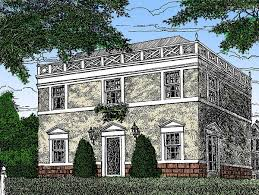 federal style home federal style home plan 11619gc architectural designs house plans