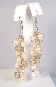 Chandelier Earrings Etsy Lillian Vernon Clear Glass Christmas Trees Set Of 3 Cheap