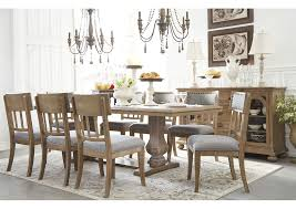 8 chair dining table ashley homestore brunei ollesburg brown rectangular dining table w