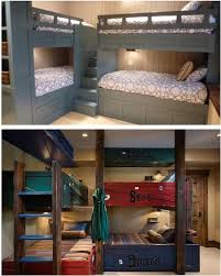 Corner Bunk Bed Image Result For 2 Bunk Beds With Corner Step Access Lake House