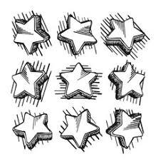 doodle stars royalty free vector image vectorstock