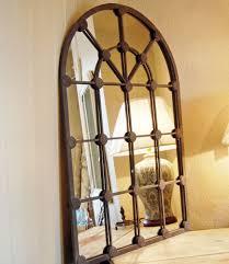 window mirror wall decor living room design small window mirror