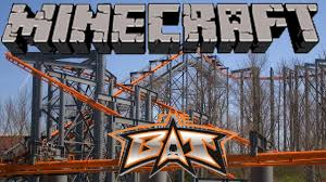 Kings Island Map Minecraft Roller Coasters The Bat Kings Island Youtube