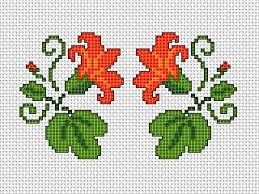 free cross stitch pattern guide for card card world