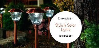 energizer 10 piece solar landscape light set solar landscape light set energizer solar landscape lights today